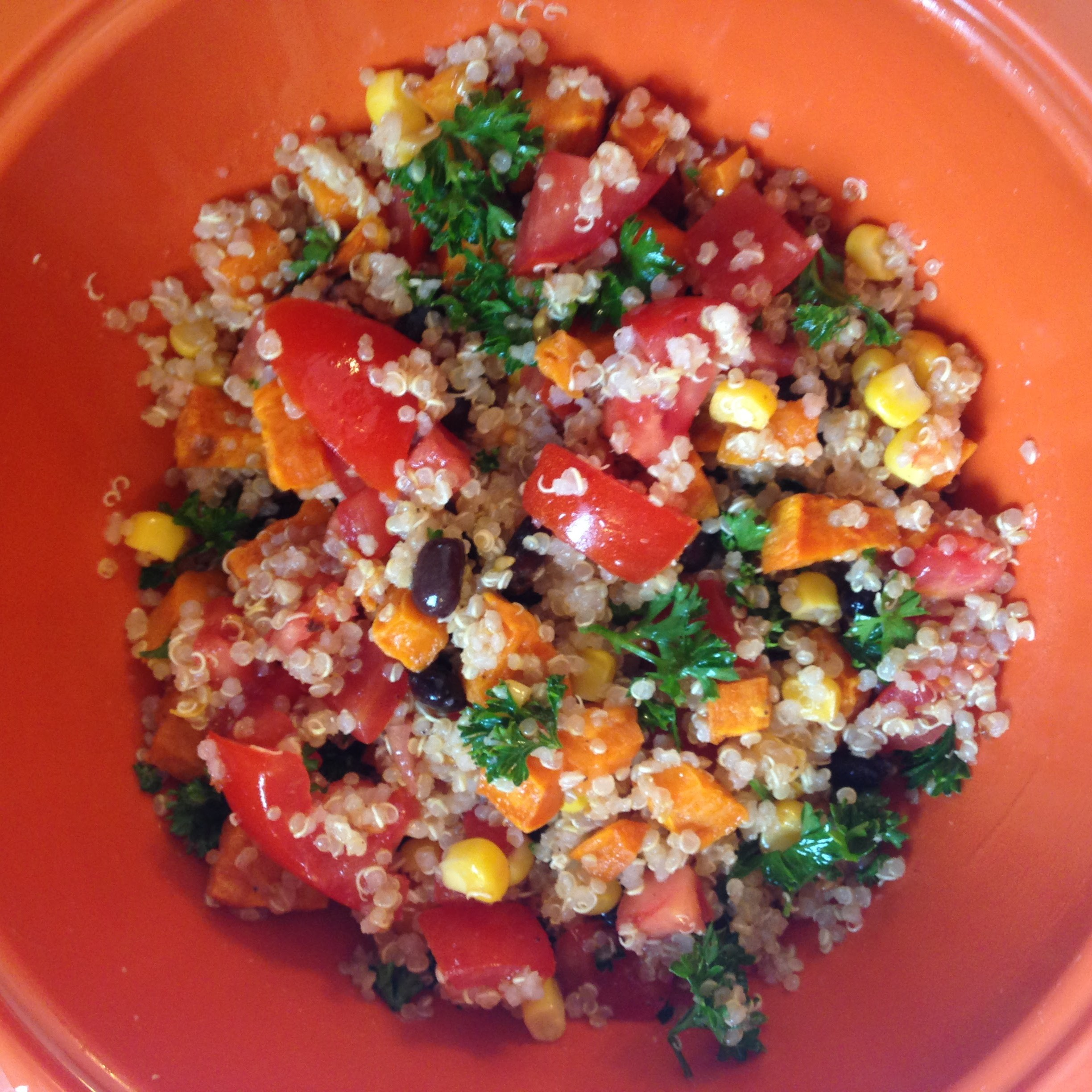 The Sassy Sally: Southwest Style Quinoa Salad