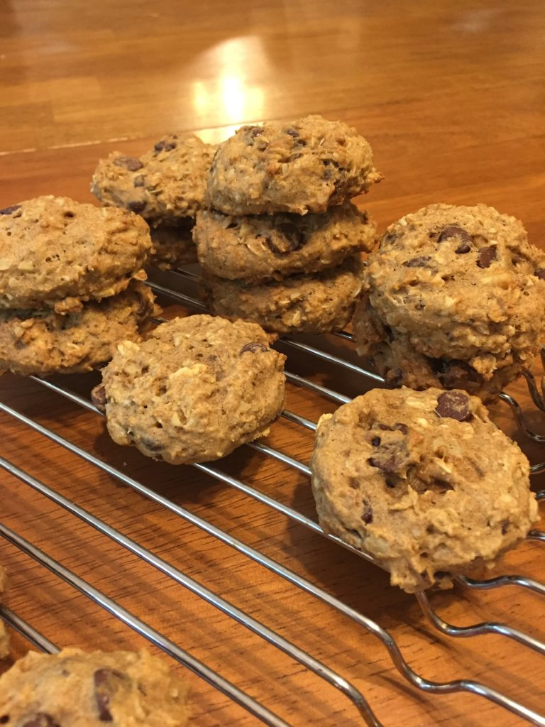 Healthierrr Chocolate Chip Cookies